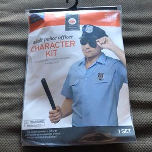 Halloween Adult Police Officer Character Kit